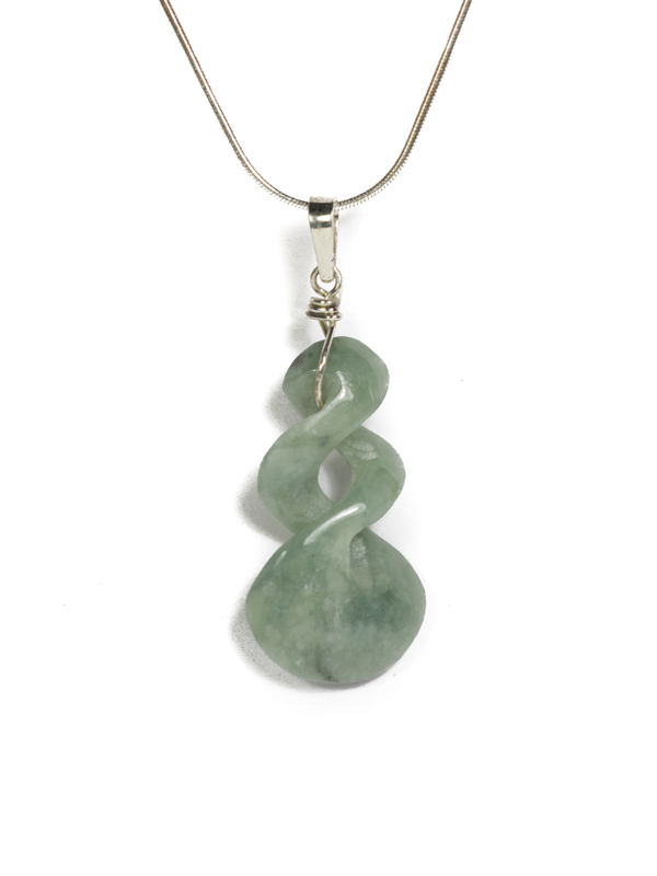 Light green Jade Twist