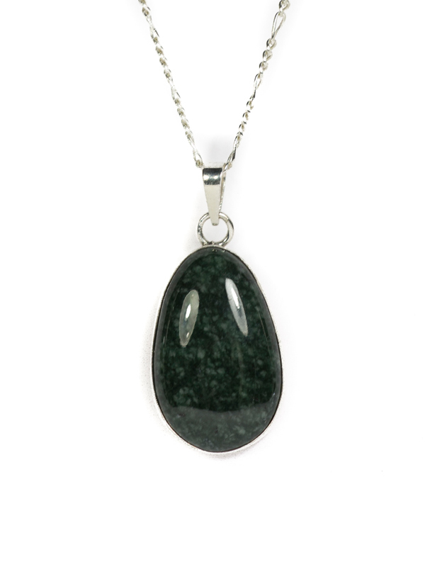 collections original stone green necklace jade long statement products jewelry large womens