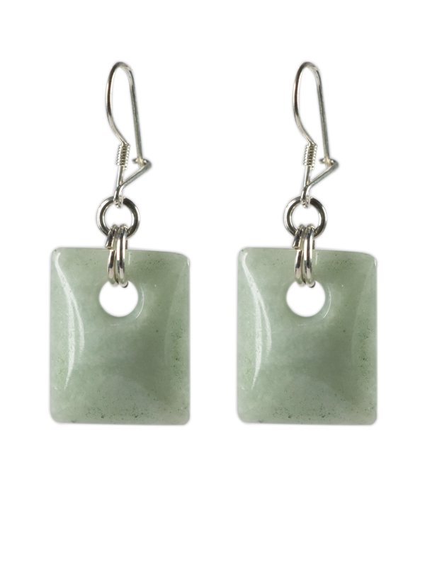 Rectangular earrings