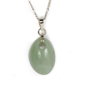 Oval light green Jade