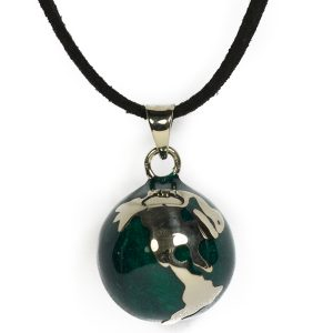 globe harmony ball necklace