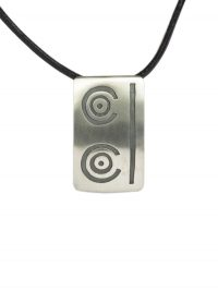 Maya pendant leather