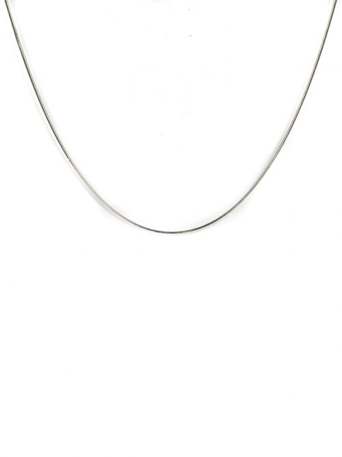 Silver Snake chain necklace silver