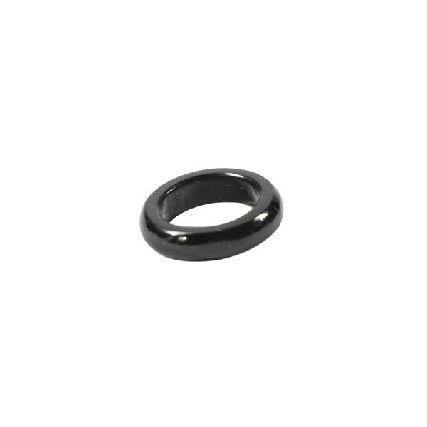 Simbolica zwarte ring van jade