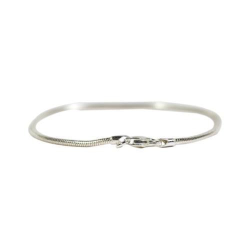 Simbolica zilveren armband of enkelbandje